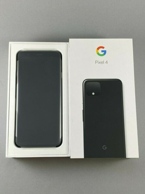 NEW Google Pixel 4 64GB Just Black Verizon Only Android Smartphone Page Plus