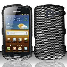 For Samsung Freeform 4 R390 HARD Protector Case Snap On Phone Cover Carbon Fiber