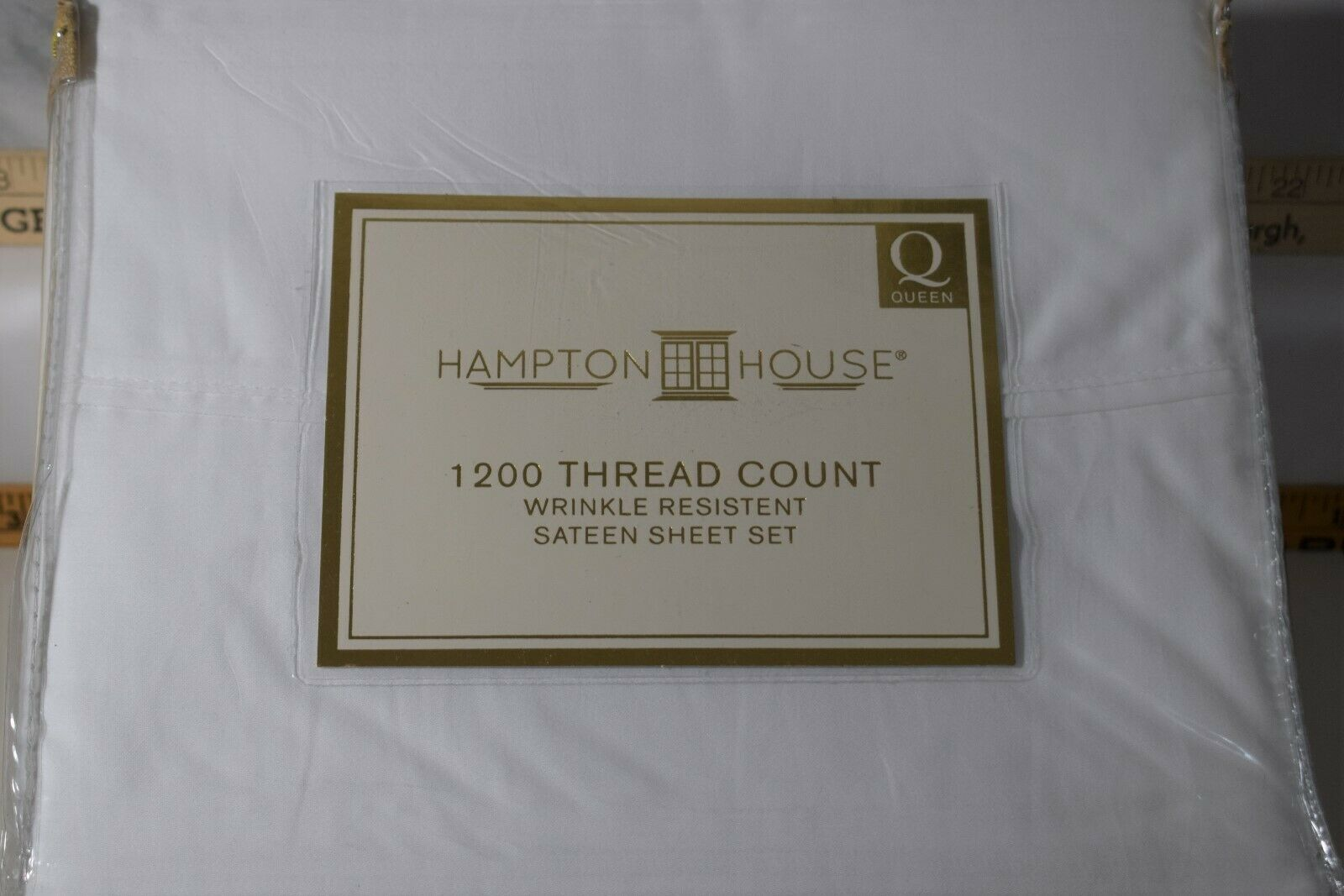 Hampton House 1200-Thread-Count Queen Sheet Set