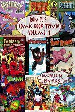 Ron El's Comic Book Trivia (Volume 1)