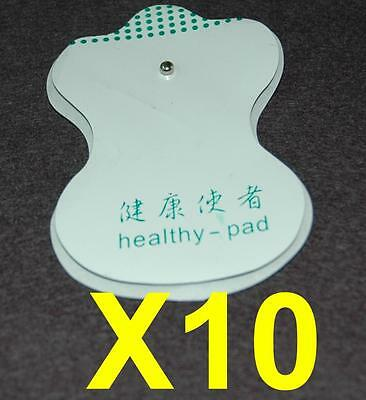 Massage Pads for Machine Massager Acupunture Tens Gel Pad Reusable Wholesale