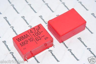 1pcs - WIMA MKP10 4.7uF (4.7µF) 100V 5% pitch:37.5mm Capacitor