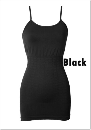 Fashion Seamless Camisole Soft Shape Control Panels Invisible Under Tank Top