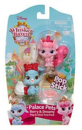 Whisker Haven Tales Palace Pets Pop /& Stick Pack de 2 Berry /& Dreamy//Petite /& Brie