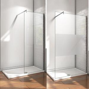 Walk-in-Duschtrennwand-8-10mm-NANO-Glas-Duschabtrennung-Duschwand-Duschkabine