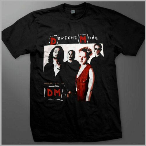 VINTAGE *1993 depeche mode devotional euro tour t-shirt REPRINT GILDAN S-XXL