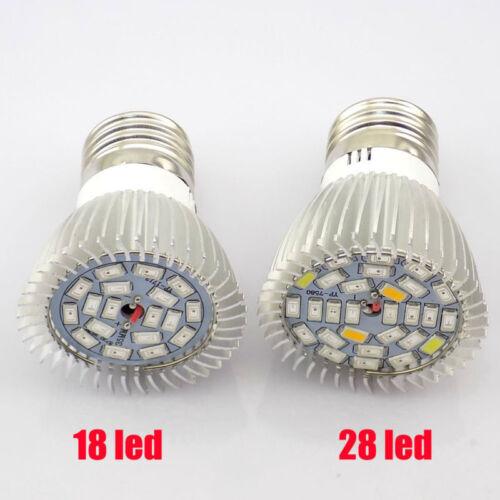 Full Spectrum E27 LED Plant Grow Light Growing Lamp Bulb For indoor Flower hydro