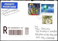 Austria 2005 Registered Covert To Canada #C21562