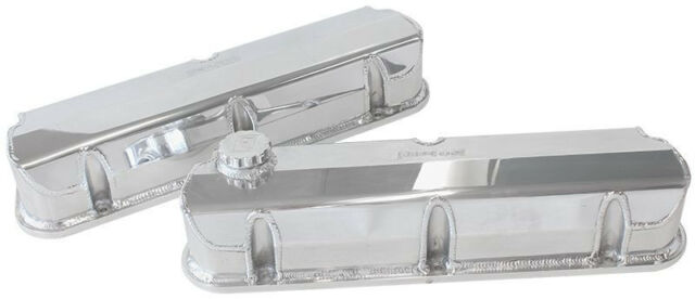 AEROFLOW FABRICATED VALVE COVERS POLISHED suit FORD 289-351W AF77-5002