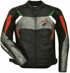 Ducati-Corse-Motorbike-Leather-Jacket