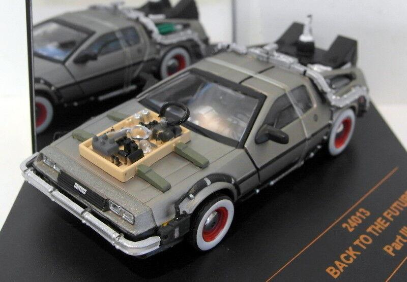 Vitesse 1 43 escala Diecast 24013 Volver Al Futuro Parte Parte Parte 3 DeLorean Máquina Del Tiempo c14e88