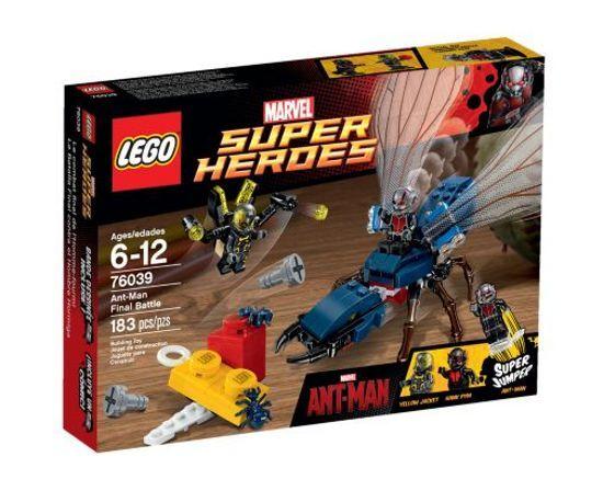 LEGO 76039 - Super Heroes: Ant-Man: Ant-Man Final Battle - NEW