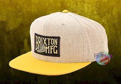 New Brixton Coventry Snapback Cap Hat