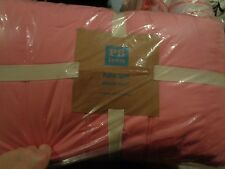 Pottery Barn Teen pink puffer quilt full queen pink New with tags