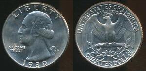 United-States-1980-D-Quarter-1-4-Dollar-Washington-Uncirculated