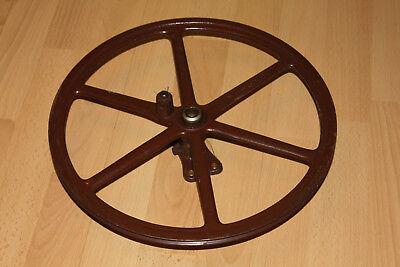 Well-Educated Eisenrad Alt Gusseisen Retro Deko Für Loft Industriedesign Vintage