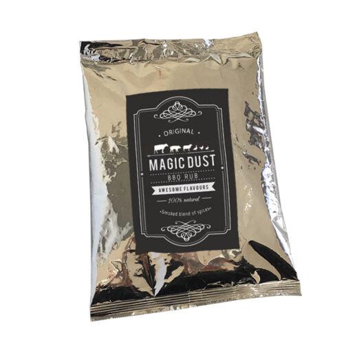 Magic Dust Rub BBQ 100% natürliches Grill Gewürz Trockenmarinade 500gr