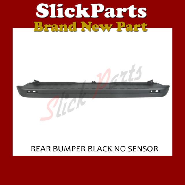 Vauxhall Vivaro 2014 on R Bumper With Sensors Black