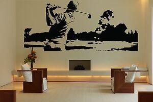 wall room decor art vinyl sticker mural decal golf sport game club