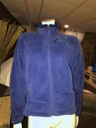 Jacket Up Dame Fleece Patagonia Xs Zip Blue Btqp7