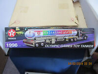 Texaco Olympic Games Toy Tanker 1996 Limited Edition  MIB