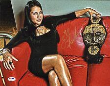 Zoila Frausto Gurgel Signed 11x14 Photo PSA/DNA COA Bellator Picture Autograph