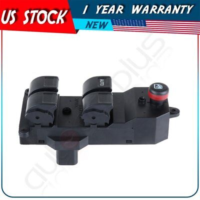 Power Window Switch Universal Front Driver Side for 2001-2005 Honda Civic