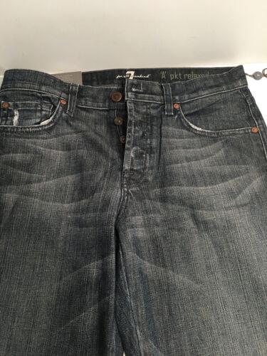mest behagelige for 29 Syv blå hele x33 menneskeheden afslappet mænds nye jeans 7 RfqCwxT