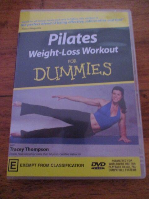 Pilates Weight Loss Workout For Dummies (DVD, 2004)