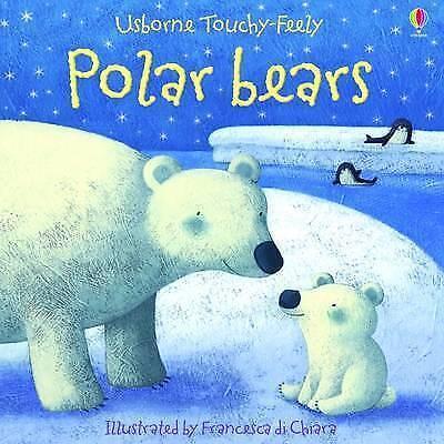 1 of 1 - Usborne Touchy- Feely - Polar Bears