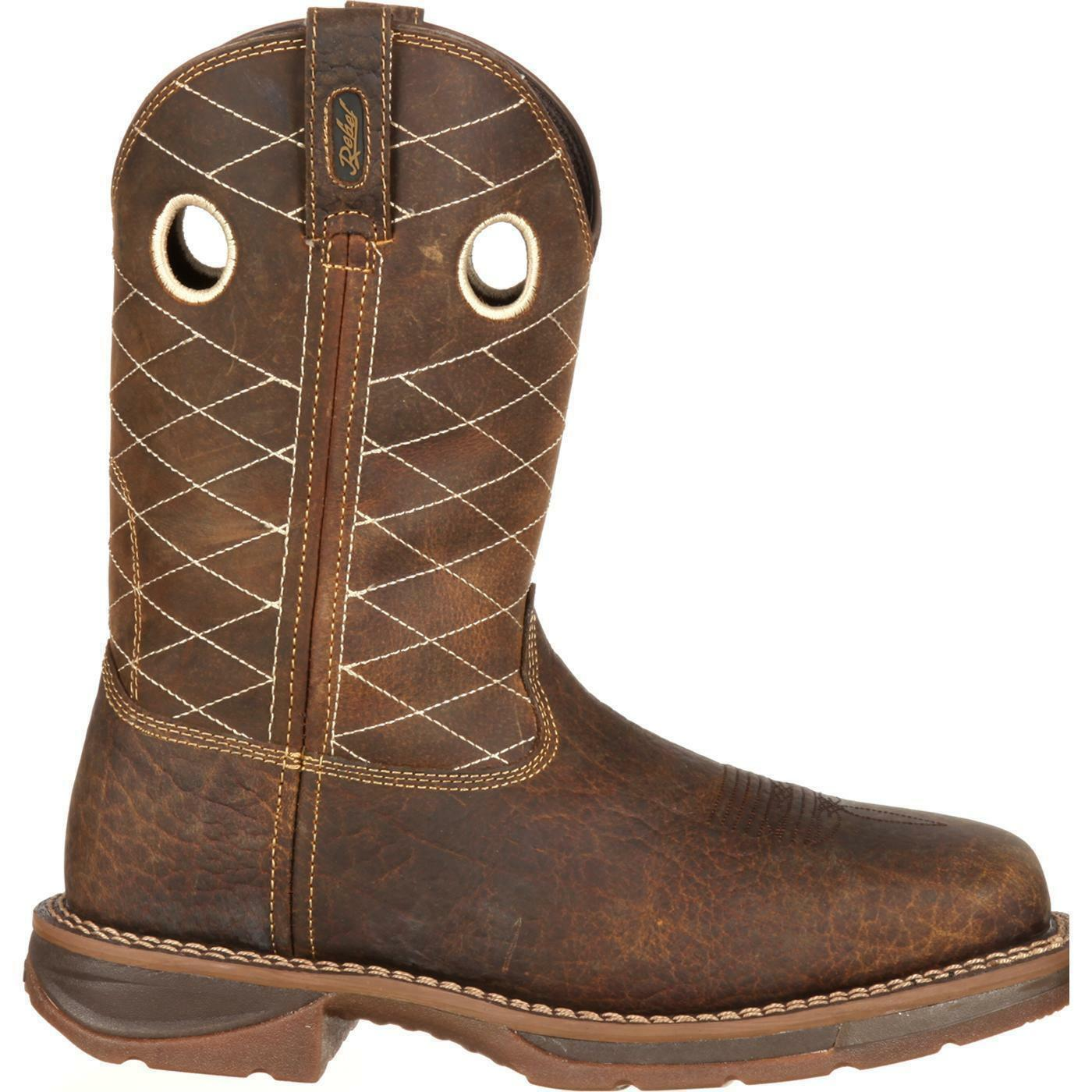 Durango Durango Durango DB4354 Workin' Rebel Square Safety Toe EH Rated Wide Calf Western Stiefel 9866c0