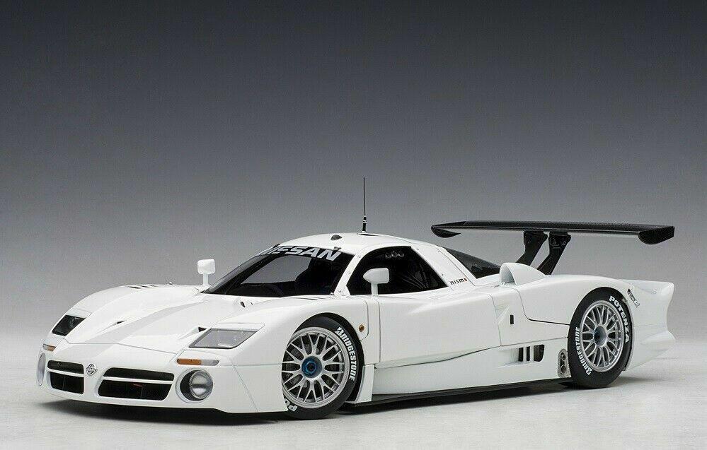 1 18 Autoart 89877 Nissan r390 gt1 storno 1998 Gloss blanc Lmtd. Edition