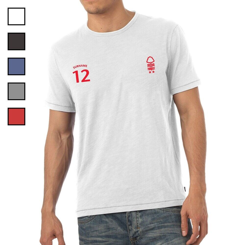 Nottingham Forest F.C - Personalised Mens T-Shirt (SPORTS)