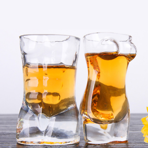Set-of-2-Vodka-Shot-3D-Whiskey-Glass-Wine-Beer-Tea-Glass-Drinking-Cup-Party