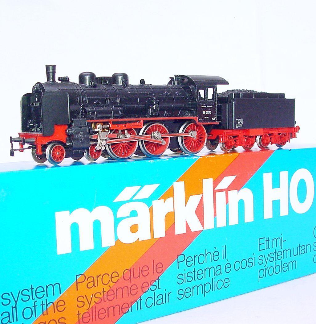Marklin ac ho nach deutschen db br 38 3553 standard dampflokomotive   3099 nmib ` 80