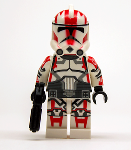 Lego-Star-Wars-Custom-CLONE-TROOPER-COMMANDER-ganch-avec-Blaster-Scuba-Pack