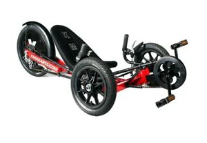 KMX-KARTS-KMX-K-3-Childs-Sports-Recumbent-Trike-RED-for-4-to-11-years-old
