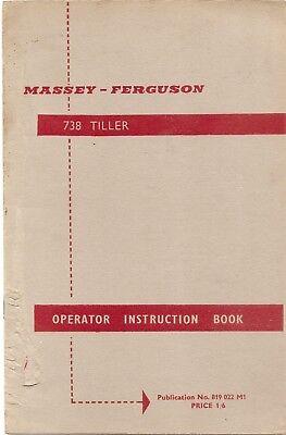 Purposeful Ferguson Tiller Instruction Book ......................... Original Manual Other