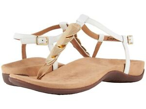 9476340737f1 NEW WOMEN 2019 VIONIC SANDAL REST MIAMI ORTHAHEEL TECHNOLOGY WHITE ...