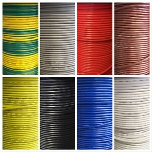 Automotive Electrical Thinwall Cable Wire For all 12v And 24v Applications
