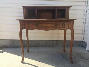 Image Is Loading French Provincial Secretary Queen Anne Writing Desk Regency