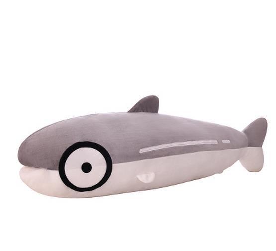 39'' Stuffed Salmon Carred Plush Plush Plush Toy Pillow Sleep Home Decoration Baby Doll Gift b71fb8