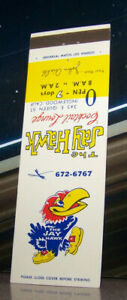Vintage-Matchbook-Cover-C7-Inglewood-California-Jay-Hawk-Cocktail-Lounge-Bird