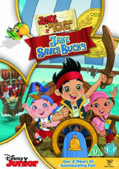 Jake And The Never Land Pirates - Jake Spart Bucky DVD Neue DVD (BUA0190801)