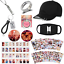 miniature 1 - KPOP BTS Bangtan Boys Gift Set for ARMY Stickers Hat Rings Necklace & More!