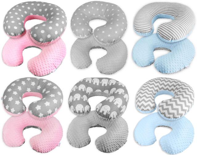 Luna Lullaby Bosom Baby Nursing Pillow Pink Dot