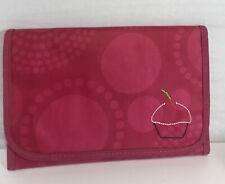 Thirty One Pink Cupcake Design Note Pad Portfolio Organizer