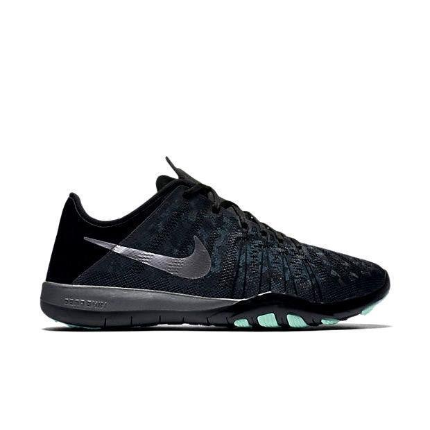 Zapatos promocionales para hombres y mujeres Womens NIKE FREE TR 6 MTLC Black Running Trainers 849805 001