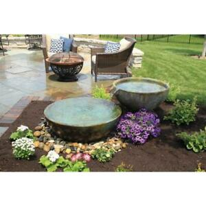 Aquascape Spillway Bowl And Basin Landscape Fountain Kit For Sale