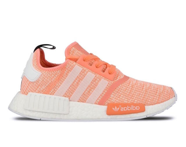 a4782779d Women s Adidas NMD R1 Athletic Light Weight Fashion Sneakers BY3034 Sun Glow